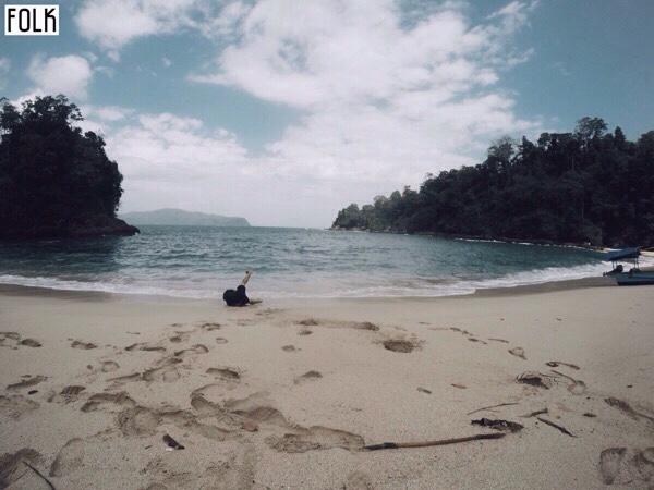 Pantai Teluk Ijo Banyuwangi